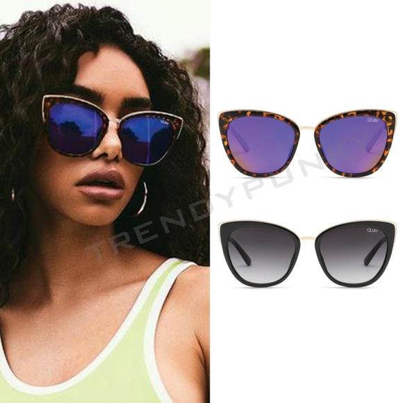 ab83d1687dcd Quay Australia Accessories | New Quay Honey Cat Eye Sunglasses All ...